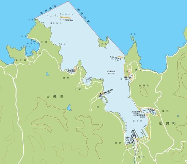 由良港   和歌山県